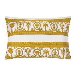 Versace Baroque Medusa Pillow  Pink//White Reversible