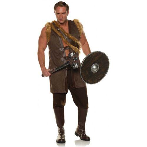 Barbarian Mens Adult Savage Primal Hunter Halloween Costume