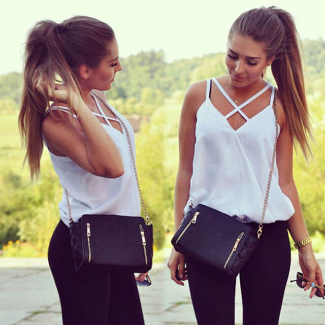 Fashion Womens Summer Vest Top Sleeveless Shirts Blouse Casual Tank Tops  pro