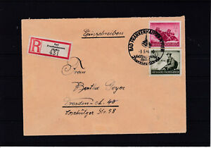 Reco-Bedarfsbrief-ECHT-gelaufen-Bad-Frankenhausen-nach-Dresden-3-5-44