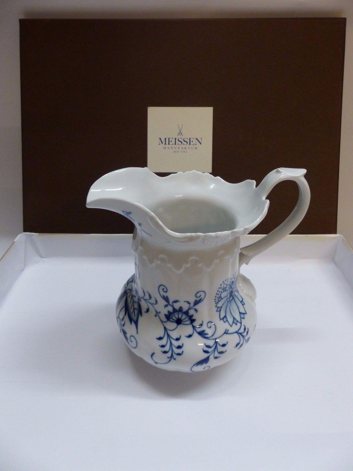 Meissen Meissen Meissen Ziebelmuster Milchkrug   Krug H  18 cm V  1 l 800101 - 55723 2. Wahl de715b