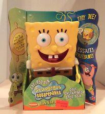 "SpongeBob SquarePants 9"" Talks 25+Words+Phrases Eyes Pop Mattel 2002 NEW! BOXED!"