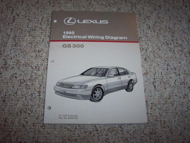 1995 Lexus Gs300 Gs 300 Factory Original Electrical Wiring