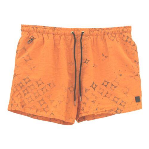 22119 Replay Hommes Pantalon Court comparaisonsconcernant secondé Sport Loisirs Short Orange