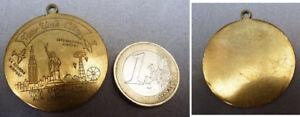 Pendentif Médaille New-york City Statue De Liberté Pendant I1wtppgf-10042458-910750565