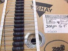 Vishay RS-5  5 watt 1.0 ohm  1% wirewound resistor  10 pcs