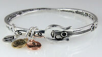 4031135 Philippians 4:13 Christian Twisted Solid Bangle Stackable Guitar Musi... on sale
