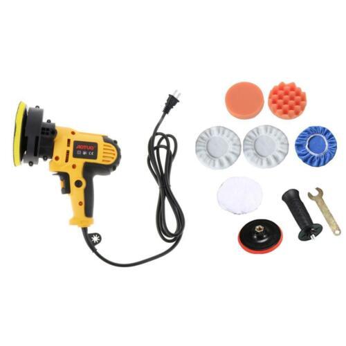 "5/"" 550W 110V Car Polisher Kit Sander Buffer Waxing Machine /& Polishing Pad Kit"