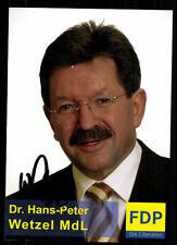 Hans Peter Karlsbad AUTOGRAFO carta firmato originale # 37173