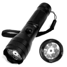 2in1 Portable 7LED Red Laser Pointer Pen Flashlight Torch Dual Purpose Light New
