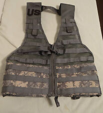 Molle II ACU Fighting Load Carrier Tactical Vest FLC Military Issue, New Unused