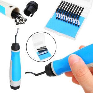 10 Blades BS1010 S10 Hand Deburring Tool NB1100 Hole Deburring Tool Handle Blue