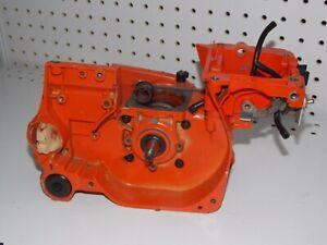 Details about ECHO CS-4600 Used chainsaw parts Crankshaft Crankcase Oil  Tank 10020419933