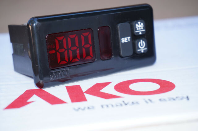 AKO D14120 120v Industrial Digital Thermostat Controller for Refrigeration