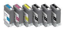 6 Tinte für Canon ImagePROGRAF iPF510 iPF605 iPF610 iPF650 / PFI102 MBK/BK/C/M/Y