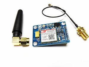 SIM800L GSM GPRS MODUL Quad-Band Quad mit Antenne 850 900 1800 1900MHz sim800l