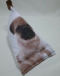 PUG-dog-phone-tablet-stand-sm-cushion-ipad-iphone-holder-Christmas-birthday-gift