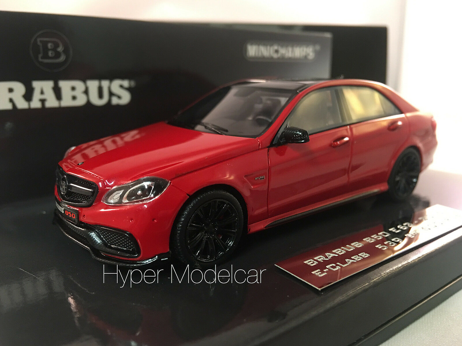 Minichamps  Mercedes-Benz E-Class 850 Brabus E63 2015 rosso Met. Art.437034100