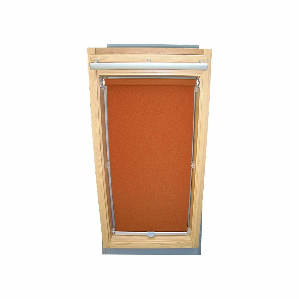 Abdunkelungsrollo Rollo Dachfensterrollo für Velux GGU GPU GHU - terracotta   Vorzüglich