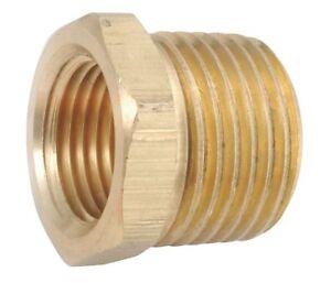 Brass-Pipe-Fitting-Reducer-3-4-034-NPT-MALE-X-1-8-034-NPT-FEMALE