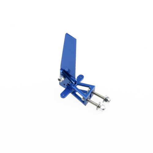 66MM Alloy Professional Steering Rudder for Catamaran RC Boat Blue
