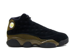 767486506f3 AIR JORDAN RETRO 13 XIII PRESCHOOL OLIVE SHIP NOW 414575-006 PS BOYS ...