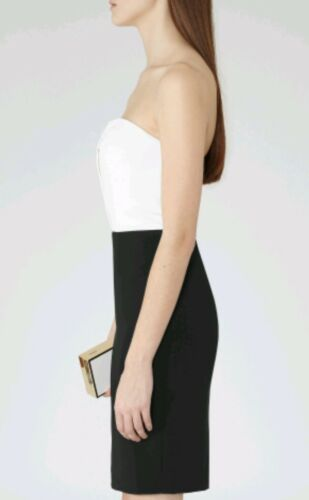 Clea Length Size Color Reiss Brand Block Bustier New Knee Dress 8 Designer H54qYxW