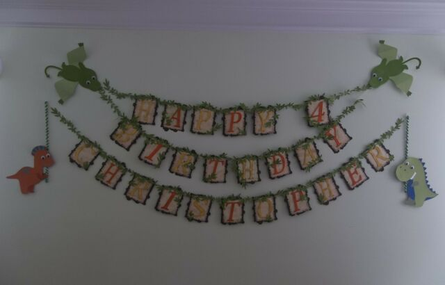Dinosaur Party Banner/ Dino Party/ Dinosaur Theme/ Prehistoric/ Photo Prop