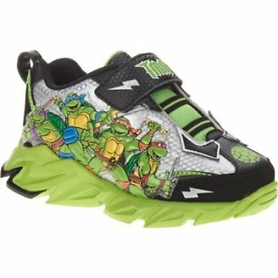 Teenage Mutant Ninja Turtles Toddler Boy Cross-Trainer Shoes Size 11 12