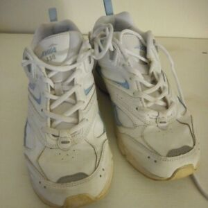 Avia Womens Blue White Athletic Shoes Sneakers cantilever Sz 7.5 M