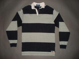 Vintage 90's Polo Ralph Lauren Rugby Shirt SIZE XXL MspxKTih