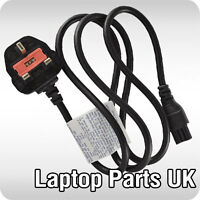 C5 3 pin LAPTOP AC ADAPTER, CHARGER POWER LEAD, MAINS CABLE, CORD with UK PLUG