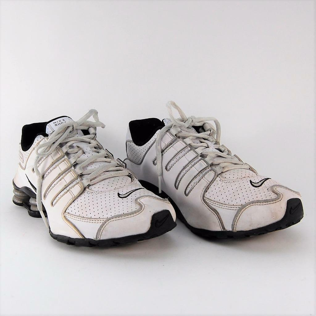 Nike Men 317929-102 Shox NZ White Running Training Sneakers US Shoe Comfortable  The latest discount shoes for men and women
