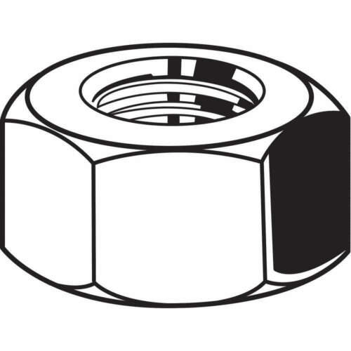 FABORY M01340.200.0150 Hex Nut,M20-1.5,Class 8,Steel,YP,PK10