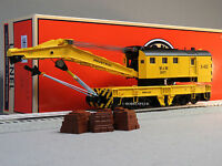 Lionel Mow Legacy Scale Command Control Crane X-402 O Gauge Train Cc 6-81885