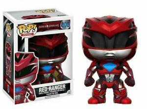 Detalles Figura400 Mostrar Acerca Funko PelículasPower Rangers Rojo Título Juguete De Original Ranger Pop SqMjUGzpLV