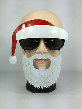 FUNNY CHRISTMAS SANTA CLAUS GLASSES WITH BEARD & HAT ATTACHED FANCY DRESS