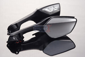 Pair Rear View Mirrors For Kawasaki Ninja Zx 10r Zx 10r
