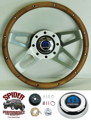 "1968-1969 DART steering wheel MOPAR 13 1//2/"" 4 SPOKE Grant steering wheel"