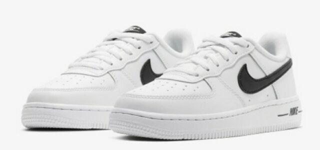 Nike Air Force 1 Low White Black An20 Cj0952-100 Men's Size 9
