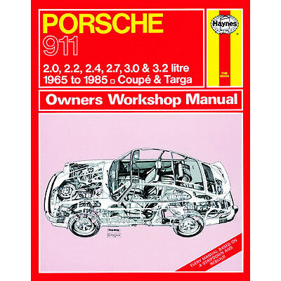 0264 Haynes Porsche 911 (1965 - 1985) up to C Workshop Manual