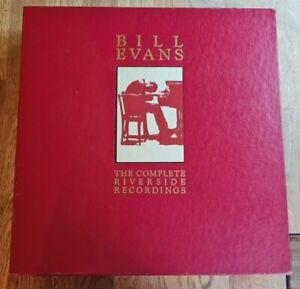 Bill Evans 18x LP Box Complete Riverside Recording USA R/side 1st Press UNPLAYED