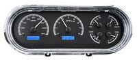 Dakota Digital 63 64 65 Chevy Nova Analog Dash Gauges Black Blue Kit Vhx-63c-nov