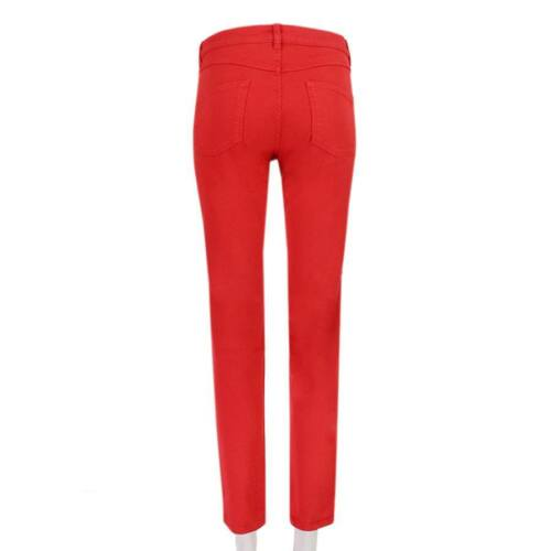 in It40 Alexander Jeans aderenti Uk8 rosso denim jeans Mcqueen 0nAn1wIRqZ