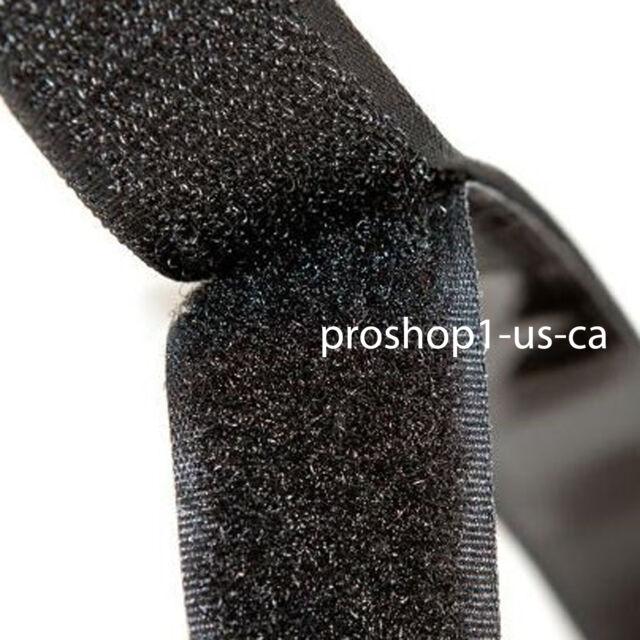 """Velcro Tape Self Adhesive 1"""" 5 yard - Black Velcro hook and loop strip QUALITY"""