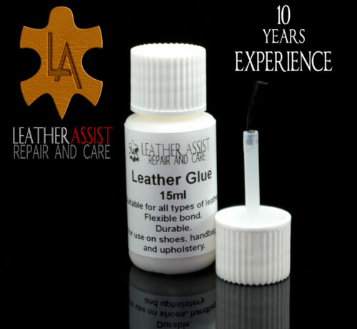Professional Strong LEATHER VINYL GLUE REPAIR For Holes Rips and Tears CRAFTS