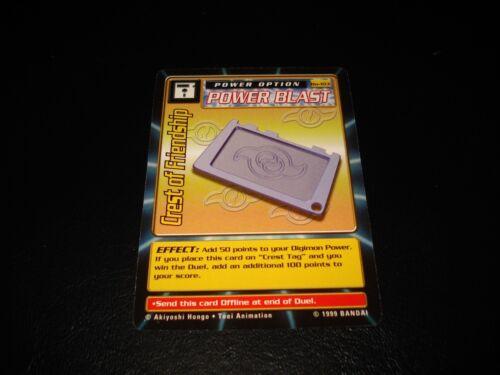 BANDAI DIGIMON CARD BO-103 CREST OF FRIENDSHIP-FREE COMBINE SHIP-GREAT CONDITION