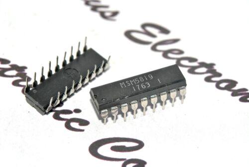 MSM5819 Integrated Circuit NOS 1pcs IC