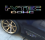 I-vtec-dohc-honda-holographic-oil-slick-chome-windshield-sticker-JDM-mugen-decal thumbnail 4