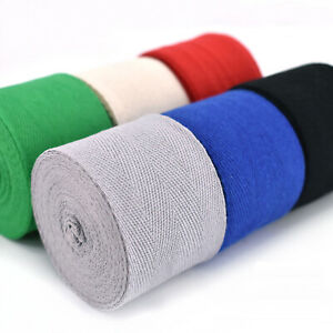 100/% Cotton Twill Herringbone Tape 2 Inch Apron Webbing Bias Binding Trim 50mm